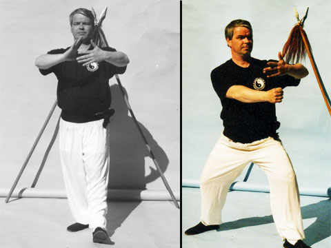 Grandmaster Patric Hanvey - co-founder of China Hand Kung Fu