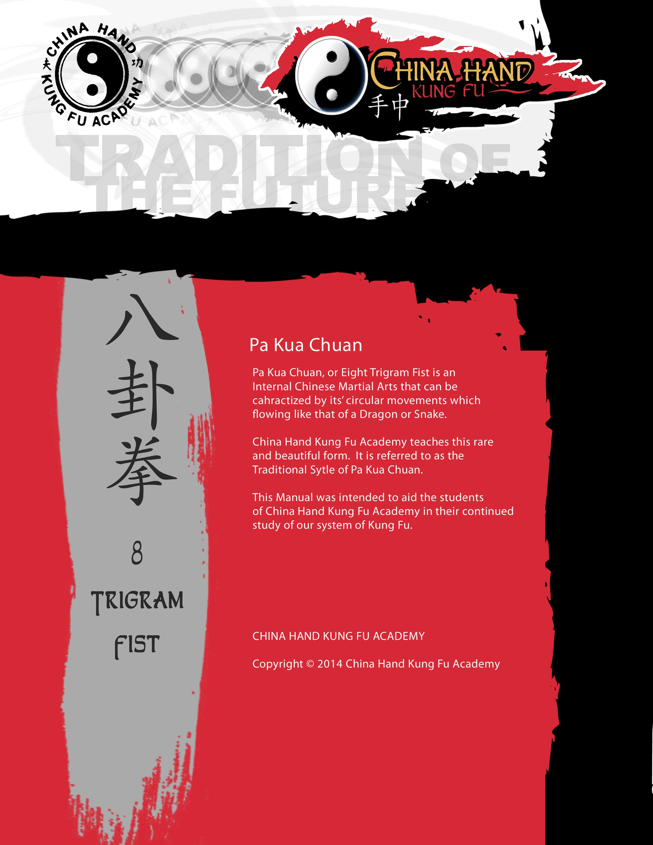 Pa Kua Chuan Manual Back